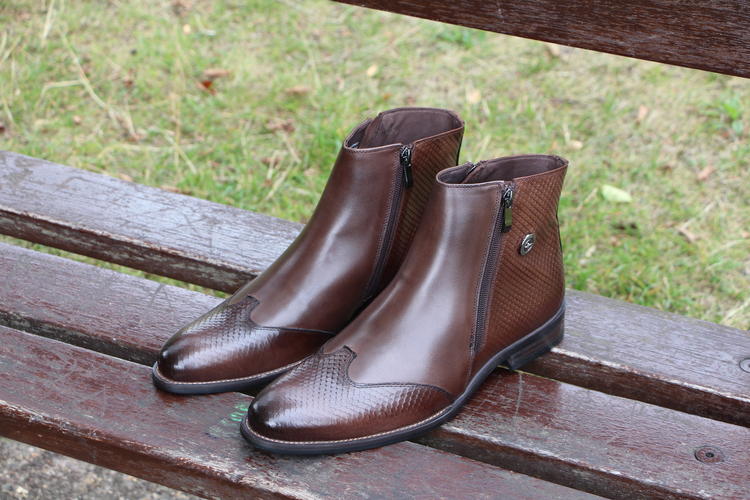 leather footwear is perfect for the UK